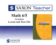 Saxon Teacher for Math 6/5, Third Edition on CD-Rom   -