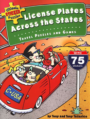 Ultimate Sticker Puzzles: License Plates Across the States: And Other Travel Puzzles & Games  -     By: Tony Tallarico