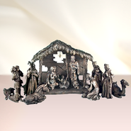 Moments of Faith, Nativity Set, 13 Pieces   -