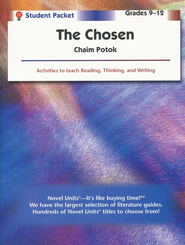 Chosen, Novel Units Student Packet, Grades 9-12   -     By: Chaim Potok