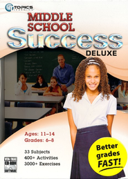 Middle School Success Deluxe 2010 on CDROM  -     By: Topics Entertainment