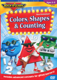 Colors, Shapes & Counting DVD   -