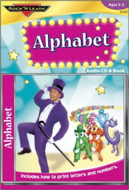 Alphabet CD & Book   -