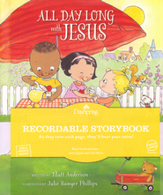 All Day Long with Jesus, Recordable Story Book  -