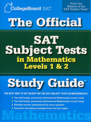 The Official SAT Subject Tests in Mathematics Levels 1 & 2 Study Guide  -