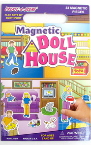 Create A Scene Magnetic Doll House   -
