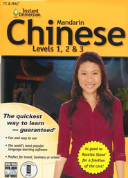 Instant Immersion Chinese--Levels 1, 2 & 3 on CD-ROM   -
