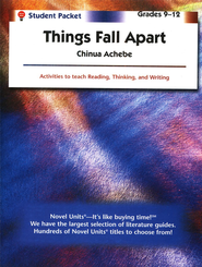 Things Fall Apart, Novel Units Student Packet, Grades 9-12  - Slightly Imperfect  -     By: Chinua Achebe