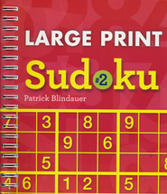 Large Print Sudoku #2  -              By: Patrick Blindauer
