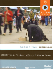 Faith Cafe Season Two: Episodes 1-13, Leader's Guide with DVD  -