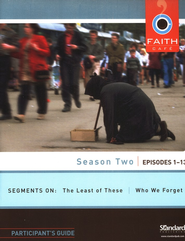 Faith Cafe - Season Two: Episodes 1-13, Participant's Guide - Slightly Imperfect  -