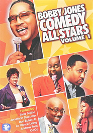 Bobby Jones Comedy All-Stars Vol. 1, DVD   -