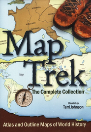 Map Trek: The Complete Collection CD-Rom   -     By: Terri Johnson