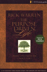 The Purpose Driven Life DVD Study Guide   -              By: Rick Warren