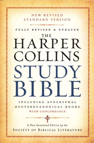 The NRSV HarperCollins Study Bible, Revised and Updated Hardcover with Apocryphal and Deuterocanonical Books  -     Edited By: Harold W. Attridge