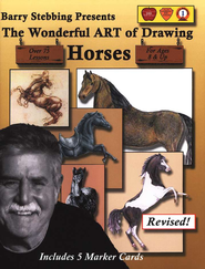 The Wonderful Art of Drawing Horses   -     By: Barry Stebbing