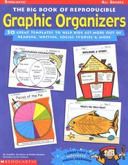 Big Book Of Reproducible Graphic Organizers  -