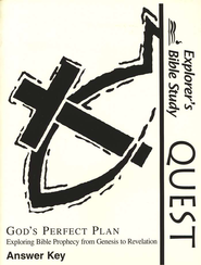 Bible Quest: God's Perfect Plan, Answer Key   -