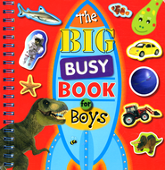 Big Busy Book For Boys  -              By: Chris Scollen