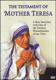 The Testament of Mother Teresa DVD   -