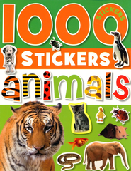 1000 Stickers - Animals  -