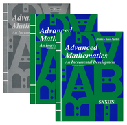 Saxon Advanced Math Home Study Kit    -