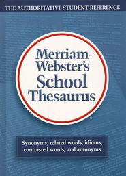 Merriam-Webster's School Thesaurus   -