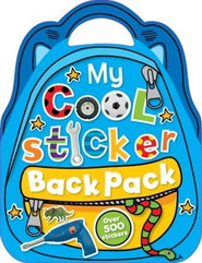 My Cool Sticker Backpack  -