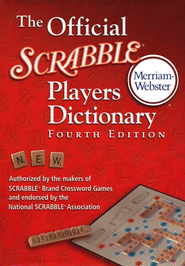 The Official Scrabble Player's Dictionary, Fourth Edition  -