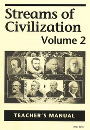 Streams of Civilization, Volume 2, Teacher's Manual   -     By: Lars R. Johnson