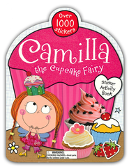 Camilla the Cupcake Fairy Stickerbook  -