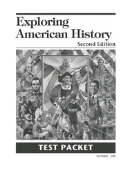 Exploring American History Second Edition  Test Packet  -