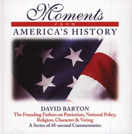 Moments from America's History - Audiobook on CD  -     By: David Barton
