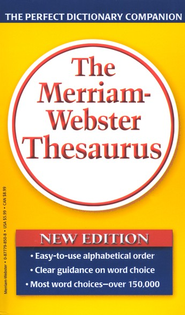 The Merriam-Webster Thesaurus (Mass Market Paperback)   -