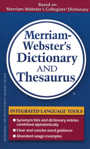 Merriam-Webster's Dictionary & Thesaurus   -