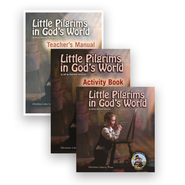 Little Pilgrims in God's World Set, 3 Volumes, Kindergarten   -     By: Jeff Dennison, Stephanie Dennison