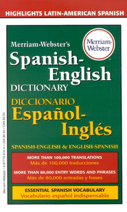 Merriam-Webster's Spanish-English Dictionary   -