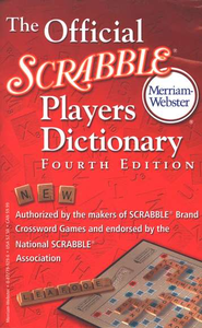 The Official Scrabble Players Dictionary, Fourth Edition  -