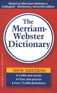The Merriam-Webster Dictionary (Mass Market)   -
