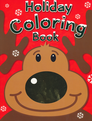 Holiday Coloring Book   -