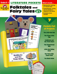 Literature Pockets: Folktales and Fairytales, Grades K-1   -     By: Homeschool