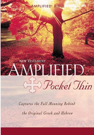 The Amplified New Testament Pocket-thin paperback  -