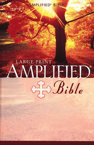 The Amplified Bible, Expanded Edition, Large Print, Hardcover  - Slightly Imperfect  -