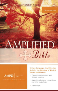 The Amplified Bible, Expanded Edition, Hardcover   -
