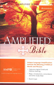 The Amplified Bible, Expanded Edition, Bonded leather, black   -
