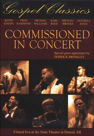 Commissioned In Concert, DVD   -     By: Commissioned