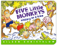 5 Little Monkeys Sit In Tree Board Book   -              By: Eileen Christelow                   Illustrated By: Eileen Christelow