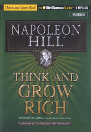 Think and Grow Rich - unabridged audiobook on CD   -     Narrated By: Joe Slattery     By: Napoleon Hill