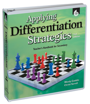 Applying Differentiation Strategies: Teacher's Handbook for Secondary Grades  -              By: Wendy Parker