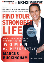 Find Your Strongest Life Unabridged Audiobook on MP3  -              By: Marcus Buckingham